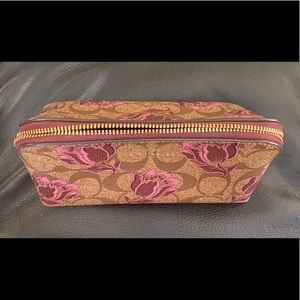 Coach Bags - Coach COSMETIC CASE 17 WITH DESERT TULIP PRINT